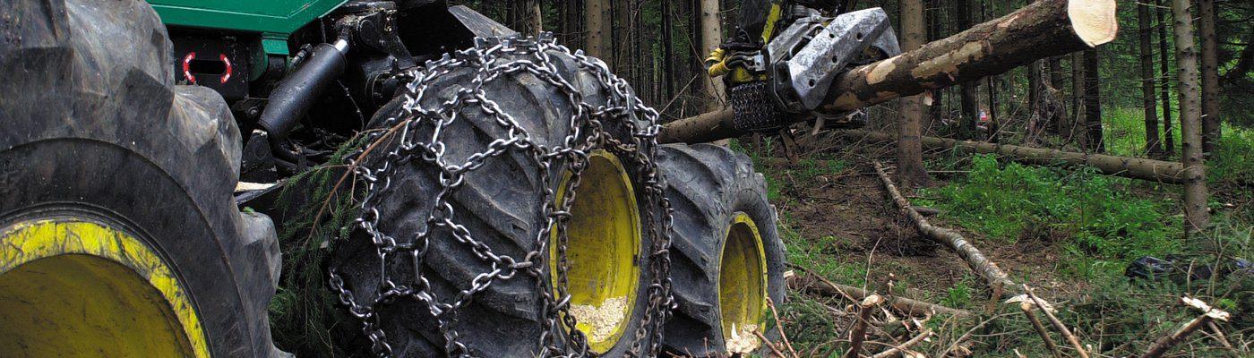 Lanturi antiderapante forestiere