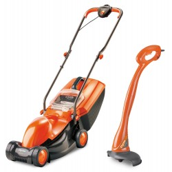 Masina tuns gazon electrica Flymo Visimo 1100W + Mini Trimmer (Set)