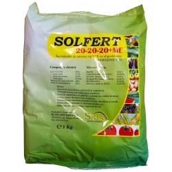Ingrasamant foliar Solfert 20-20-20+ME - 1kg