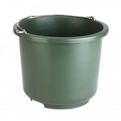 Galeata de grajd si constructii 12 litri - verde