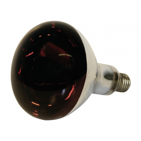 Bec infrarosu sticla rosie Kerbl - 150 W