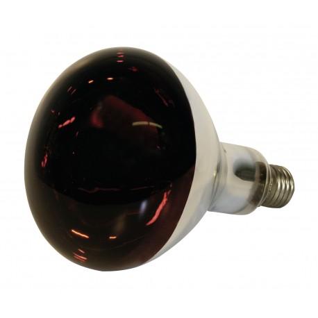 Bec infrarosu sticla rosie Kerbl - 250 W
