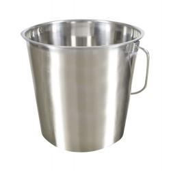 Galeata Kerbl din otel inoxidabil - 8,5 litri