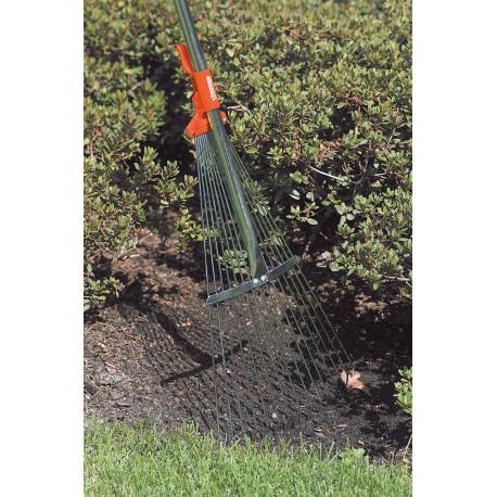 Grebla reglabila pentru frunze Stocker cu coada (128 - 160 cm)