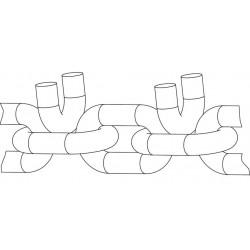 Lanturi antiderapante forestiere Interforst 18,4 R26 TAF