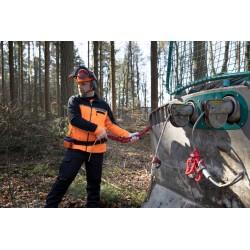 Lant tractare Nordforest cu carlig si ghidaj 8 mm - 2,5 m