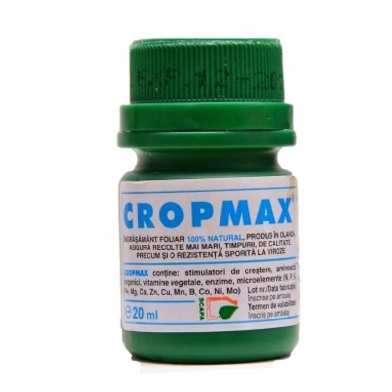 Ingrasamant Bio Cropmax 100% natural - 20 ml.
