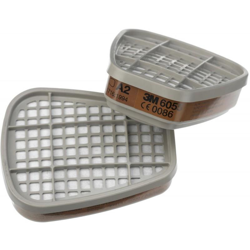 Set 2 filtre 6055 pentru semimasca protectie 3M 6000