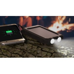 Acumulator Power Bank solar Goobay 8000 mAh