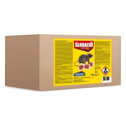 Raticid pasta Glodacid Plus - 5 kg.