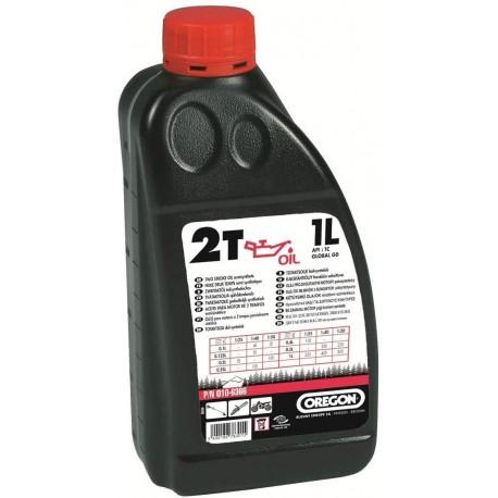 Ulei de amestec Oregon rosu 2 T - 1 litru