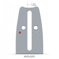 Sina Oregon O158PXLBK095 - 38 cm (15'') 325'' 1,5 mm ControlCut