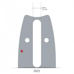 "Sina Oregon O163VXLHD025 - 40 cm (16"") 3/8"" 1,6 mm VersaCut"