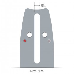 Sina Oregon O168PXLBK095 - 40 cm (16'') 325'' 1,5 mm ControlCut