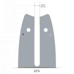 Sina Oregon O124MLEA074 - 30 cm (12'') 3/8'' 1,1 mm Single Rivet