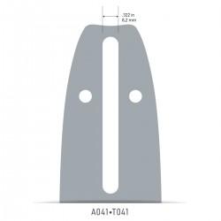 Sina Oregon O140SDEA041 - 35 cm (14'') 3/8'' 1,3 mm Single Rivet