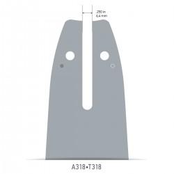 Sina Oregon O160SDEA318 - 40 cm (16'') 3/8'' 1,3 mm Single Rivet