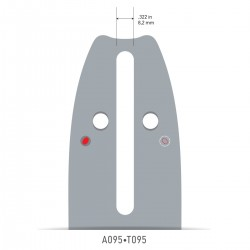 Sina Oregon O140SXEA095 - 35 cm (14'') 3/8'' 1,3 mm AdvanceCut