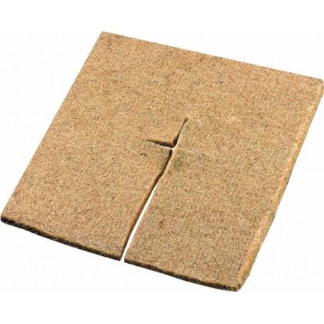 Patrat din fibra de nuca de cocos mulcire (45 x 45 cm)