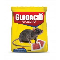 Raticid pasta rosie Glodacid Plus - 120 gr.