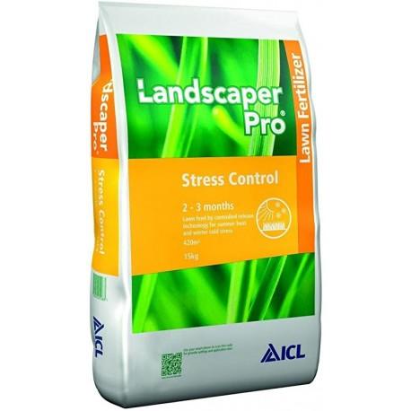 Ingrasamant gazon LandscaperPro Stress Control 16-5-22 + ME - sac 15 kg