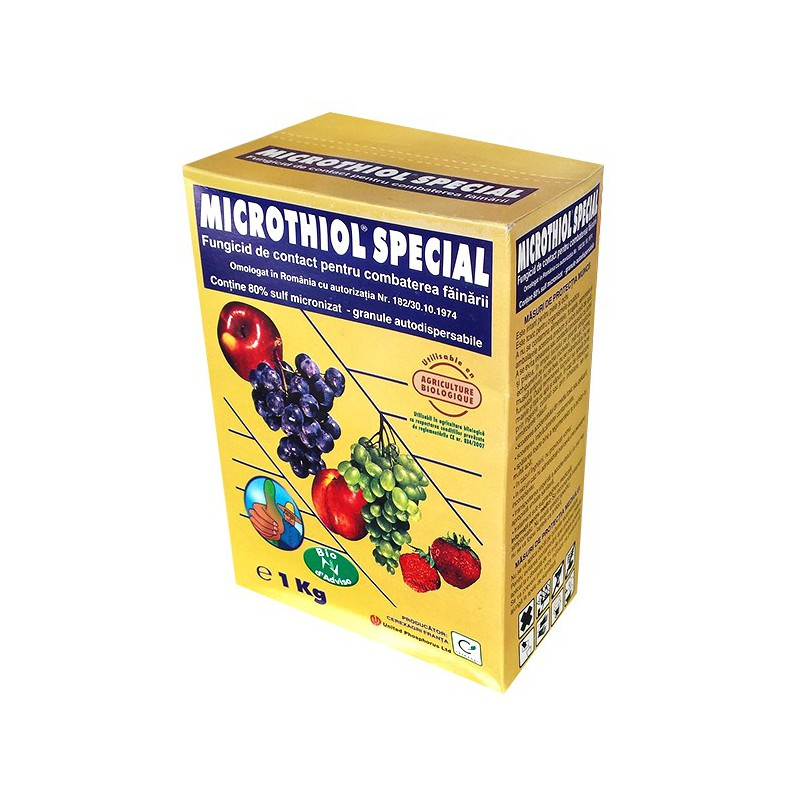 Fungicid contact Microthiol Special - 1 kg