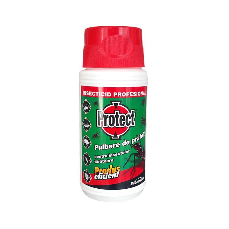 Insecticid pulbere Protect B pentru insecte taratoare - 100 gr.