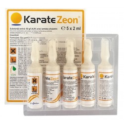 Insecticid piretroid Karate Zeon - 2 ml.