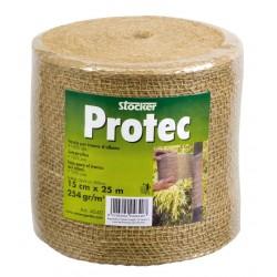 Fasa biodegradabila bandajare pomi din iuta 100% Protec 0.15 x 25 m
