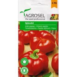Seminte ardei gogosar Splendid - 1 gr.