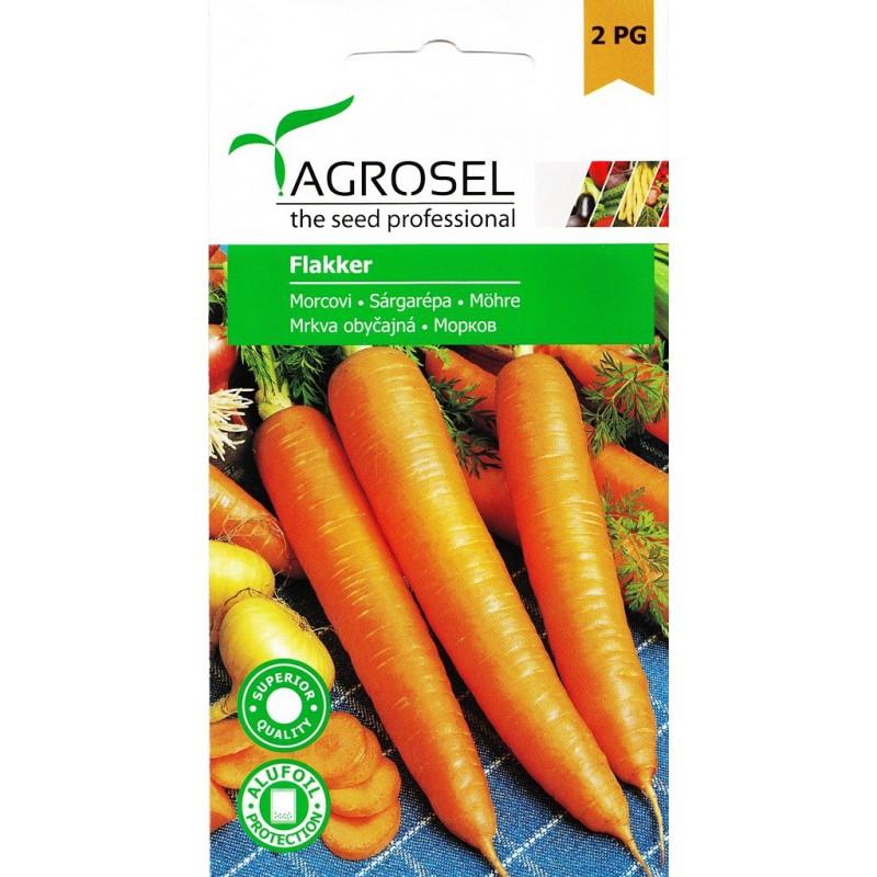 Seminte morcovi Flakker - 5 gr.