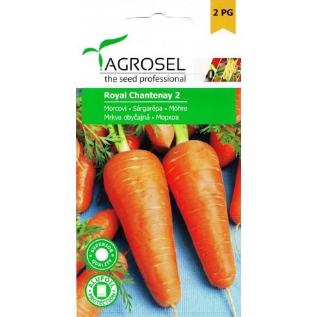 Seminte morcovi Royal Chantenay 2 - plic 5 gr.