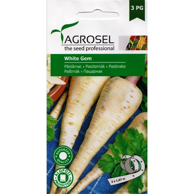Seminte pastarnac White Gem - 4 gr.