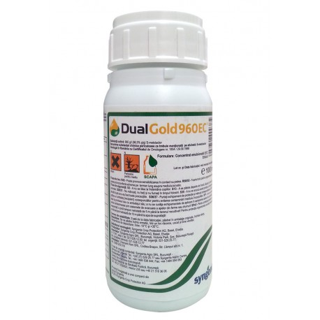 Erbicid Dual Gold 960 EC - 100ml .