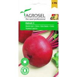 Seminte sfecla rosie Detroit 2 - plic 5 gr.
