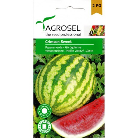 Seminte pepene verde Crimson Sweet - 3 gr.