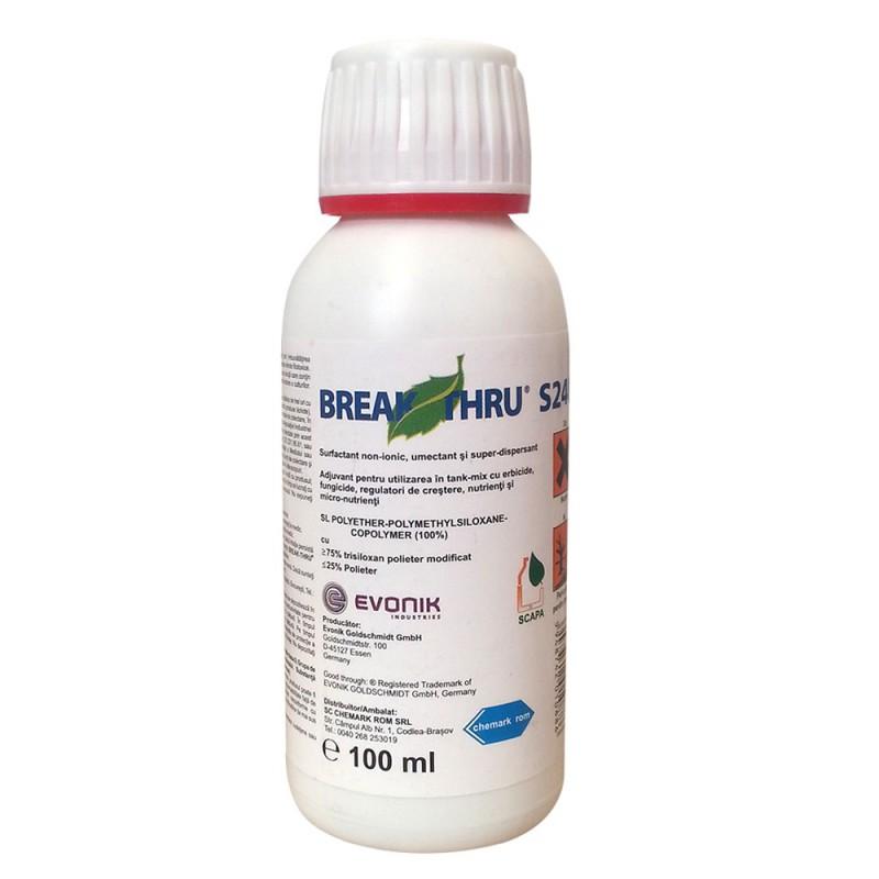 Adjuvant pesticide Break Thru S240 - 100 ml.