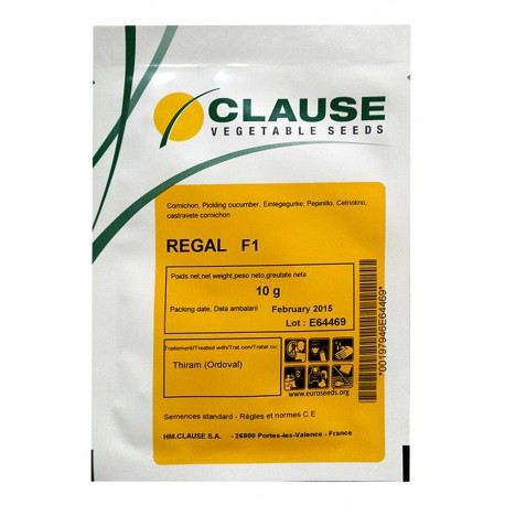 Seminte castraveti Cornichon REGAL F1 Clause - 10 g