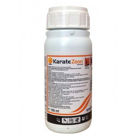 Insecticid piretroid Karate Zeon - 100 ml.
