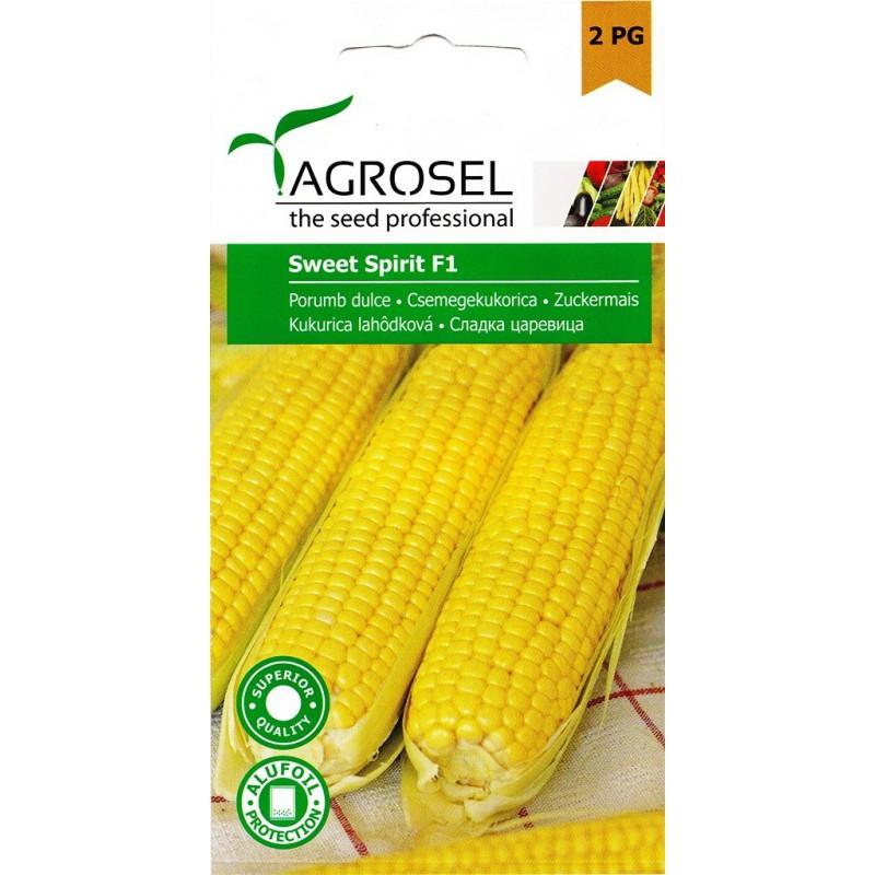 Seminte porumb zaharat Sweet Spirit F1 Agrosel - 25 seminte