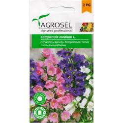 Seminte flori Clopotei melanj Agrosel - 1 gr.