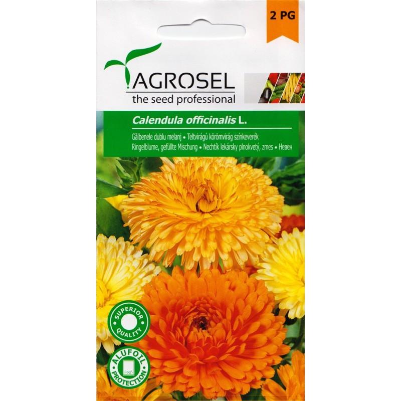 Seminte Galbenele dublu melanj Agrosel - 2 gr.