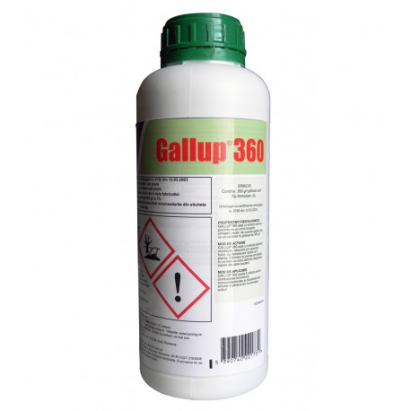 Erbicid total Gallup - 1 l.