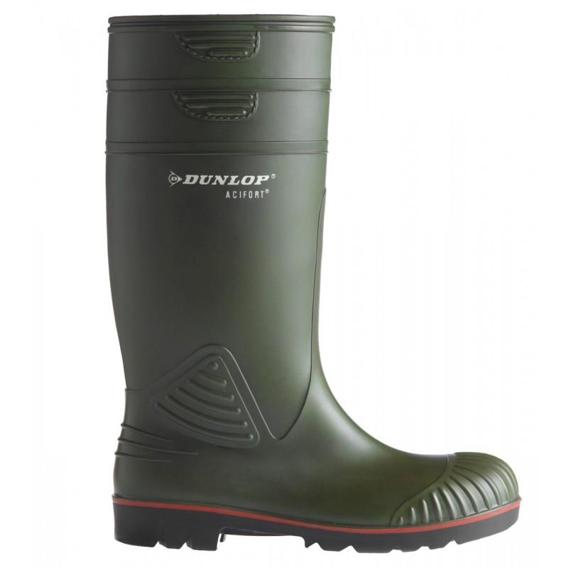 Cizme de protectie Dunlop Acifort S5 - verzi