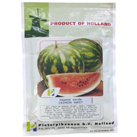Seminte pepene Crimson Sweet PPZ Olanda - 250 gr.