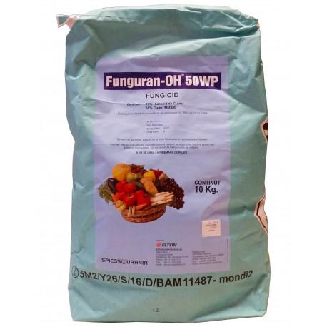 Fungicid Funguran OH 50 WP - 10 kg.