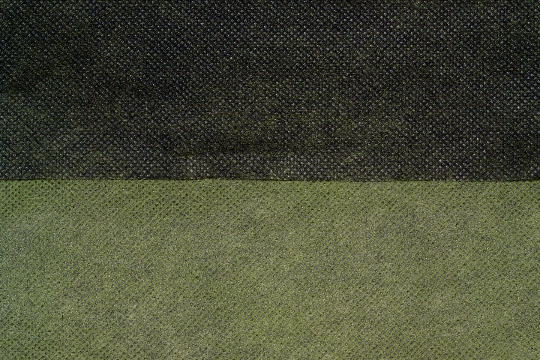 Folie microporoasa mulcire Protex, neagra-verde, 2 x 5 m, 60 gr - Verdon