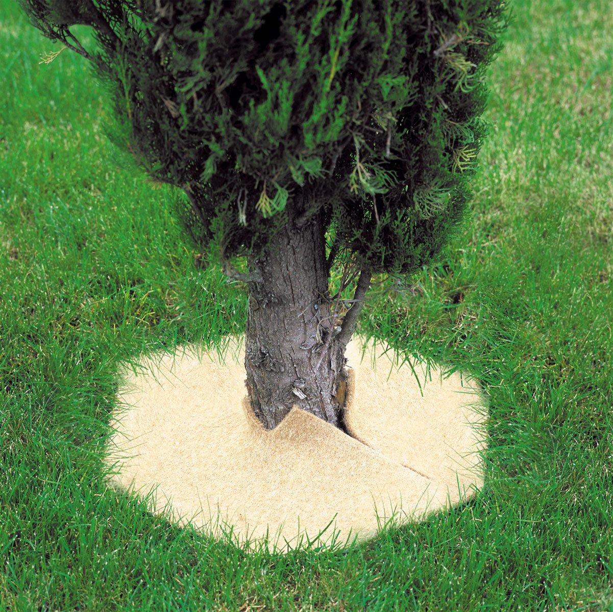 Patrat din fibra de nuca de cocos pentru mulcire 45 x 45 cm - Verdon