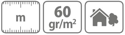 Caracteristici Folie microporoasa pentru mulcire Protex 60 gr