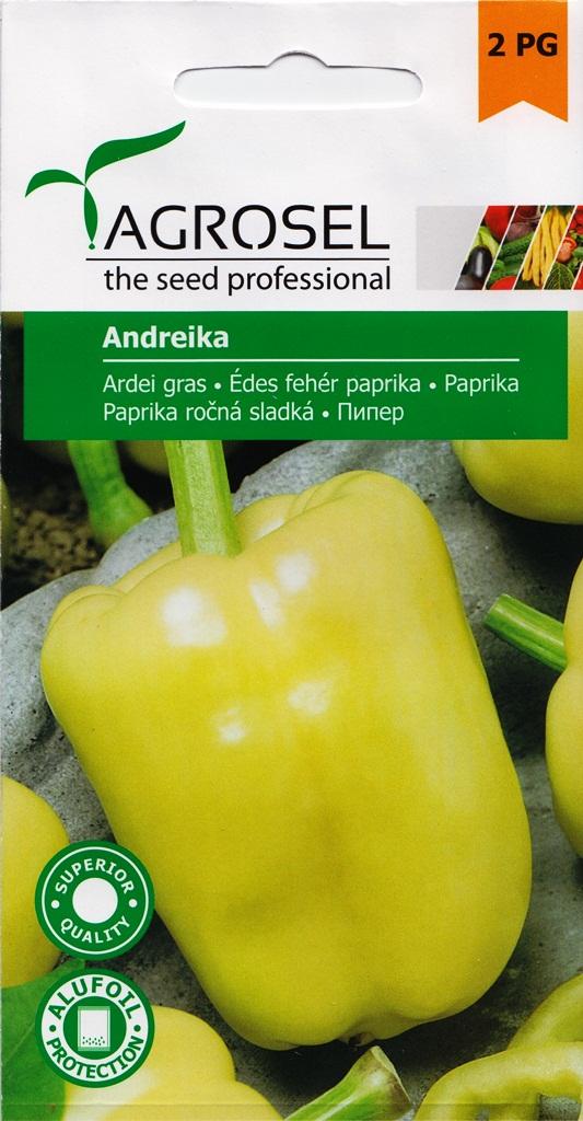 Seminte de ardei gras Andreika - Verdon